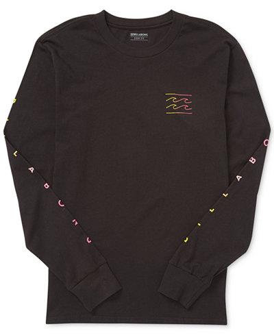 Billabong Men's Unity Long-Sleeve Graphic T-Shirt