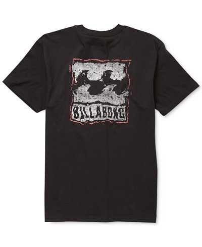 Billabong Men's Wavy Graphic T-Shirt