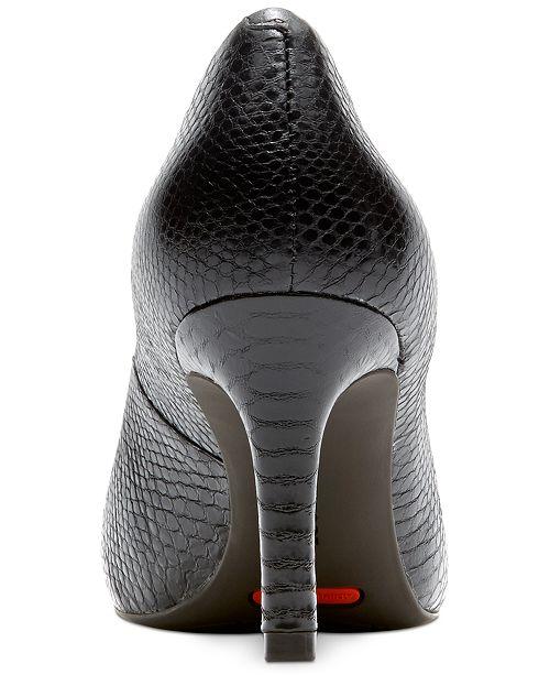 1384ec841693 Rockport Women s Total Motion Pointed-Toe Pumps   Reviews - Pumps ...