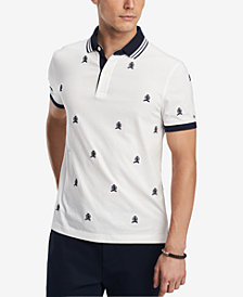 Tommy Hilfiger Men's Princeton Custom Fit Polo, Created for Macy's