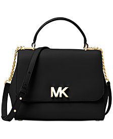 MICHAEL Michael Kors Mott Leather Top-Handle Satchel