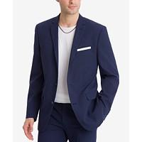 Bar III Men's Slim-Fit Active Stretch Seersucker Suit Jacket Deals