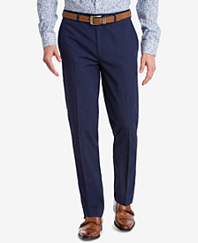 Bar III Men's Slim-Fit Active Stretch Navy Stripe Seersucker Suit Pants, Created for Macy's