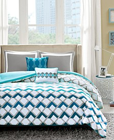 Finn 5-Pc. Full/Queen Comforter Set