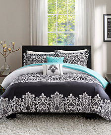 Intelligent Design Leona 5-Pc. Full/Queen Duvet Set