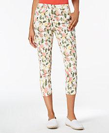 Charter Club Bristol Printed Capri Pants, Created for Macy's