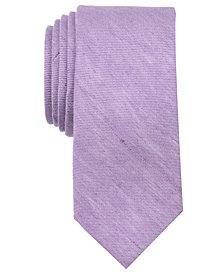 Tallia Men's Bowie Solid Slim Tie
