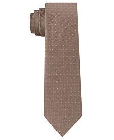 DKNY Men's Kelly Neat Slim Silk Tie