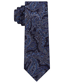 Michael Kors Men's Statement Paisley Slim Tie