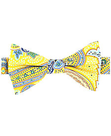 Tommy Hilfiger Men's Tropic Paisley Pre-Tied Silk Bow Tie