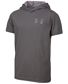 Under Armour Textured Tech Hoodie, Big Boys