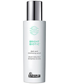 dr. brandt Bright Biotic Dark Spot Minimizing Serum, 1.7-oz.