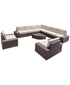 San Lucas 10-Pc. Sofa Set, Quick Ship
