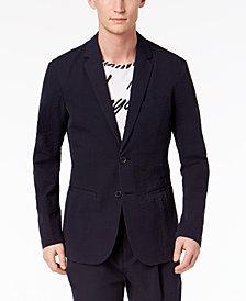 A|X Armani Exchange Men's Slim-Fit Seersucker Suit Jacket