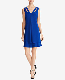 American Living Tiered Jersey Dress