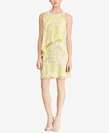 Lauren Ralph Lauren Floral-Print Dress, Regular & Petite Sizes