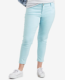 Levi's® Plus Size 711 Cotton Skinny Ankle Jeans