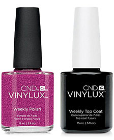 Creative Nail Design Vinylux Butterfly Nail Polish & Top Coat (Two Items), 0.5-oz., from PUREBEAUTY Salon & Spa