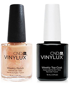 Creative Nail Design Vinylux Dandelion Nail Polish & Top Coat (Two Items), 0.5-oz., from PUREBEAUTY Salon & Spa