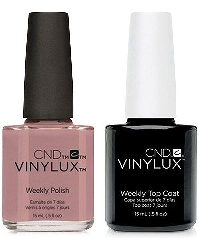 Creative Nail Design Vinylux Field Fox Nail Polish & Top Coat (Two Items), 0.5-oz., from PUREBEAUTY Salon & Spa