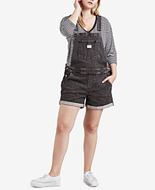 Levi's® Plus Size Cotton Denim Overalls