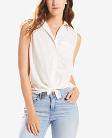Levi's® Coralie Sleeveless Printed Shirt