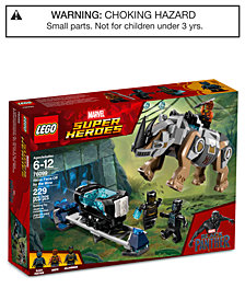 LEGO® Super Heroes Black Panther Rhino Face-Off by the Mine Set 76099