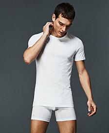 Lacoste Men's 2-Pk. Superfine Stretch Crew-Neck T-Shirts