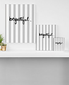 Deny Designs Kal Barteski beYOUtiful Stripes Art Canvas Collection
