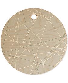 Deny Designs Mareike Boehmer Pastel Lines Cutting Board