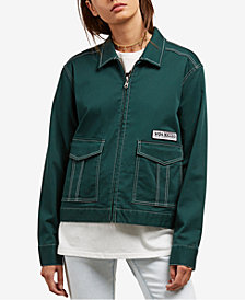 Volcom Juniors' Frochickie Zip-Up Jacket