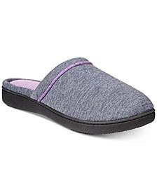 Women's Nicole Jersey Memory-Foam Slippers