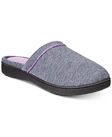 Isotoner Signature Women's Nicole Jersey Memory-Foam Slippers