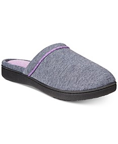 be63752d1 Isotoner Signature Women's Nicole Jersey Memory-Foam Slippers