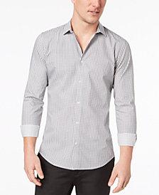 Calvin Klein Men's Infinite Classic-Fit Check Shirt