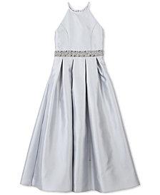 Speechless Embellished Satin Maxi Dress, Big Girls