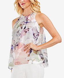 Vince Camuto Floral-Print Top