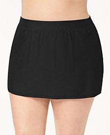 GO by Gossip Plus Size Swim Skirt, Created for Macy's