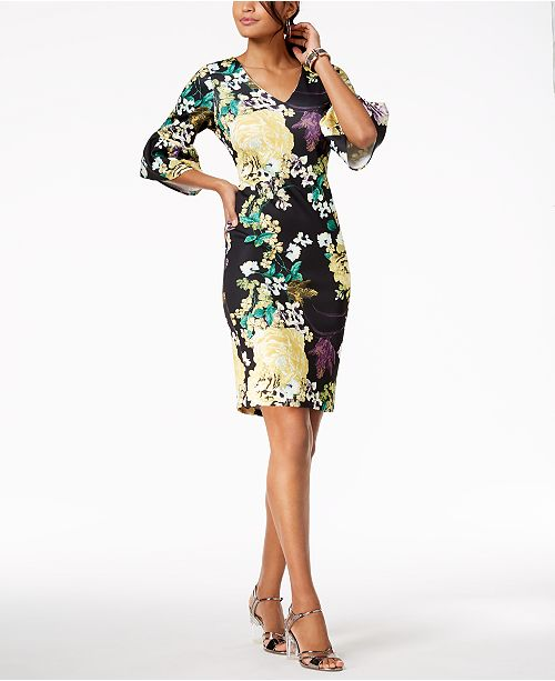 ef153666045 ... Thalia Sodi Floral-Print Sheath Dress