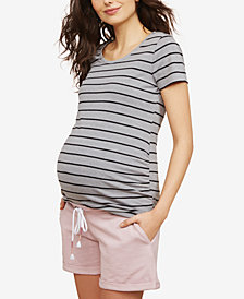 Motherhood Maternity Drawstring Shorts