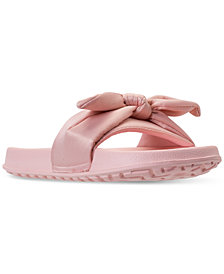 Nine West Big Girls' Bryndah Slide Sandals from Finish Line