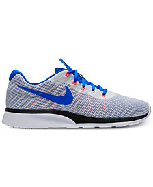 Nike Men's Tanjun Racer Casual Sneakers from Finish Line