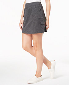 Style & Co Pull-On Skort, Created for Macy's