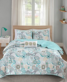 Mi Zone Tamil 3-Pc. Twin/Twin XL Coverlet Set