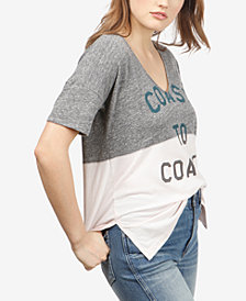 Lucky Brand Colorblocked Graphic T-Shirt