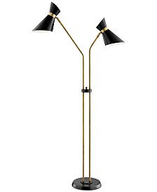 Lite Source Jared 2-Light Floor Lamp