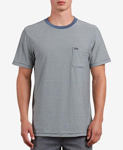 Volcom Men's Preston Striped Pocket T-Shirt
