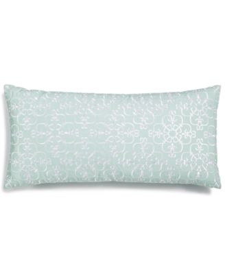"Embroidered 12"" x 24"" Decorative Pillow, Created for Macy's"