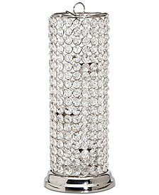 "Lighting by Design Glam Crystal 13"" Tealight Holder"