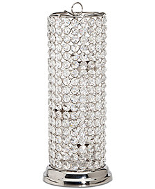 "Godinger Lighting by Design Glam Crystal 13"" Tealight Holder"